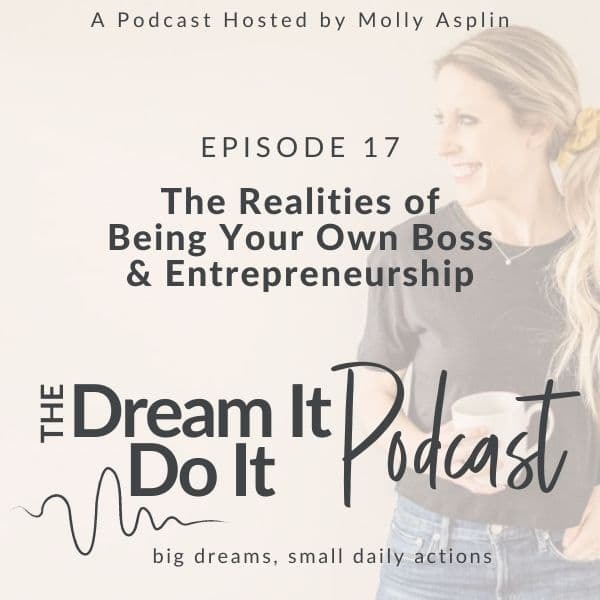 The Realities of Being Your Own Boss & Entrepreneurship