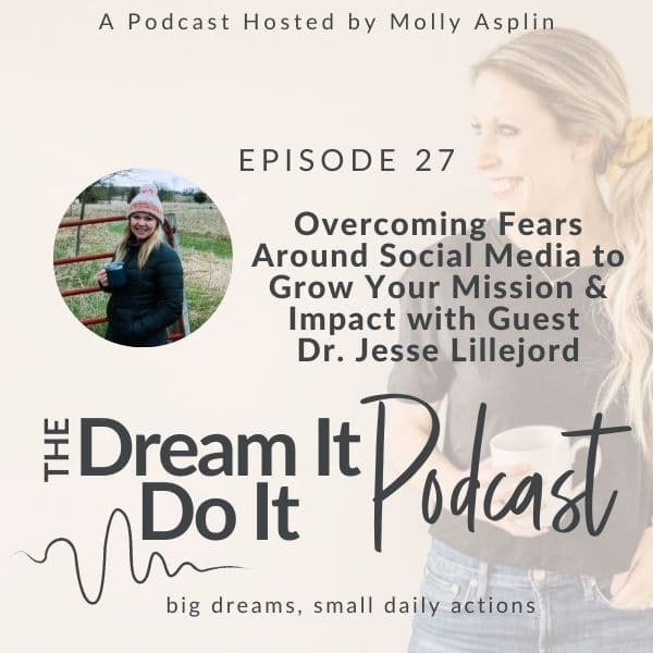 Overcoming Fears Around Social Media to Grow Your Mission & Impact with Dr. Jesse Lillejord